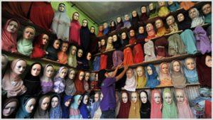 peluang usaha rumahan - busana muslim wanita
