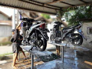 Peluang usaha cuci motor