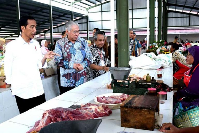 kemendag tinjau pasar rakyat-indonetwork-dok