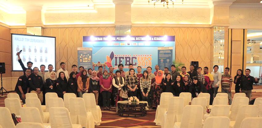 Hadir di Roadshow IFBC Surabaya, Indonetwork Gelar Workshop