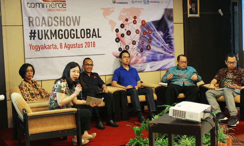 Roadshow E2E Commerce di Yogyakarta: Pelaku Usaha Haruslah Adaptasi