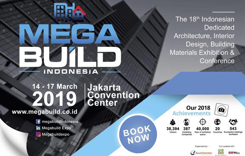 Reed Panorama Suguhkan Tiga Event Akbar Sekaligus di Megabuild Indonesia