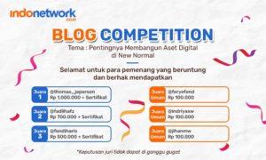 Pemenang Lomba Blog